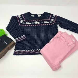 2/$20 H&M Navy Adorable Sweater 18mo EUC